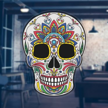 Mexican Day Of The Dead Stickers