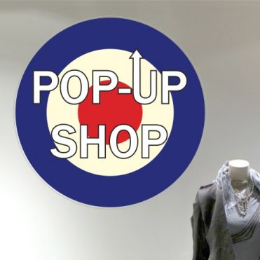 Pop-Up Shop Window Stickers