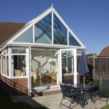 Conservatory Tinted Glass Film