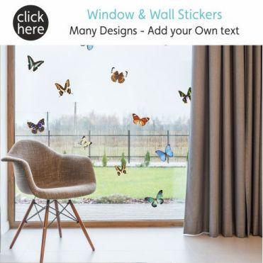 Decorative Window & Wall Home Stickers