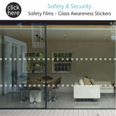 Safety & Security Window Film & Stickers