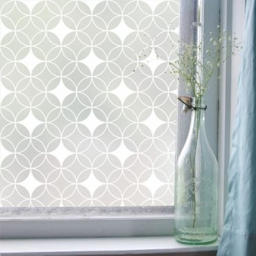 Contemporary Patterned Window Film