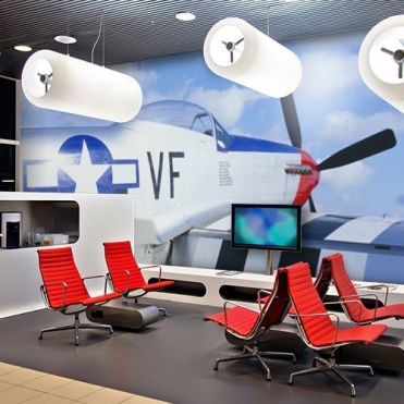 Aeronautical Wall Murals