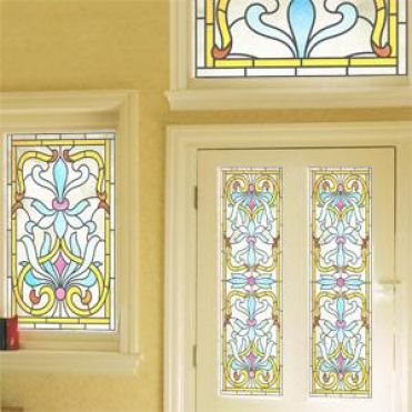 Morris Art Nouveau Stained Glass Design