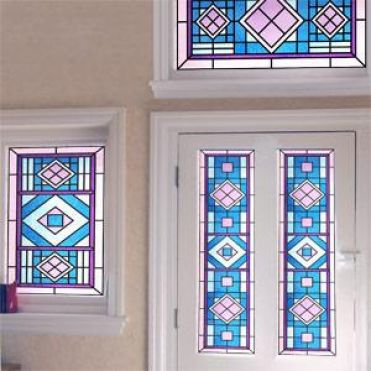 Franklin Victorian Stained Glass Design