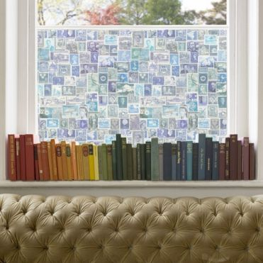 Stamps Window Film