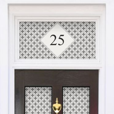 Traditional House Number Decals