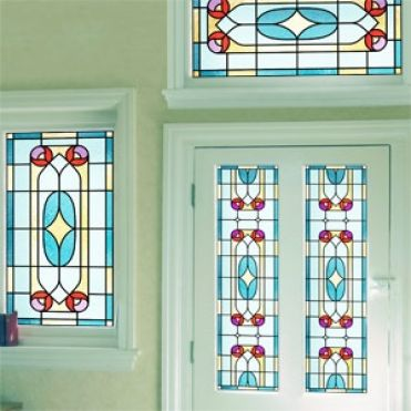 Constance Victorian Stained Glass Design