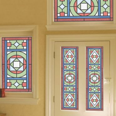 Gilbert Victorian Stained Glass Design
