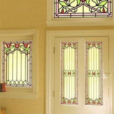 victorian stained glass window film purlfrost