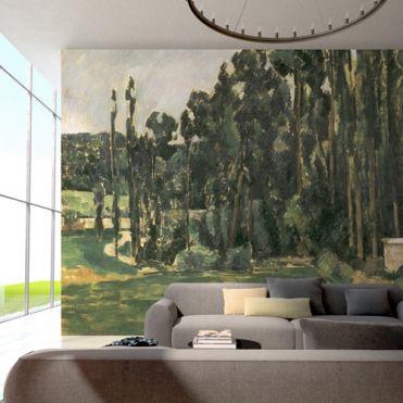 Cezanne, Poplars
