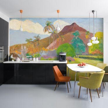 Gauguin, Tahitian Landscape