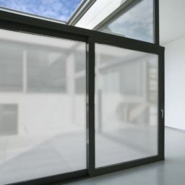 Matt Grey Solar Frosted Window Film