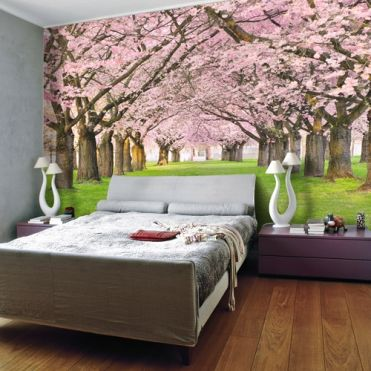 Orchard Blossom Wall Mural