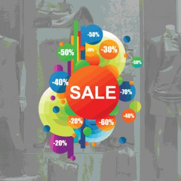 Sale Bubbles Right