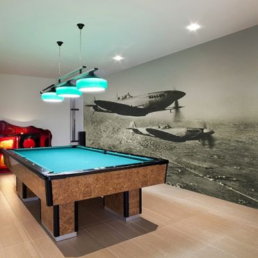 Spitfire Airplanes Wall Mural