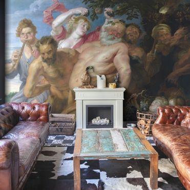 Van Dyck, Drunken Silenus supported by Satyrs