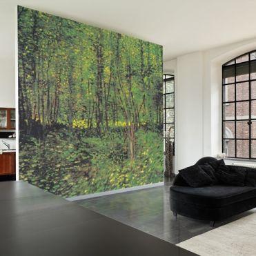 Van Gogh, Baume und Unterholz