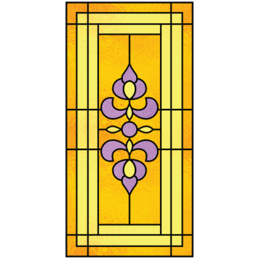 Victoria victorian stained glass design for Victorian stained glass window film