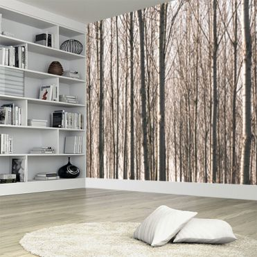 Winter Woodland Wall Mural
