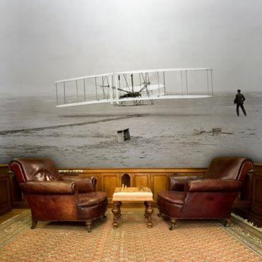 Wright Brothers Wall Mural